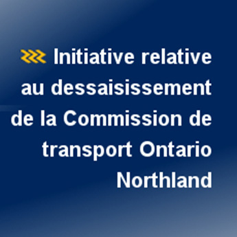 Initiative relative au dessaisissement de la commission de transport Ontario Northland