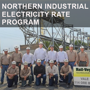 Northern Industrial Electricity Rate Program